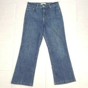 LEVIS 512 Size 12 M Perfectly Slimming Boot Cut